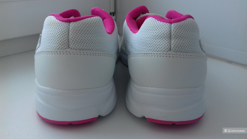 Кроссовки Demix, бело-розовые, 40 размер
