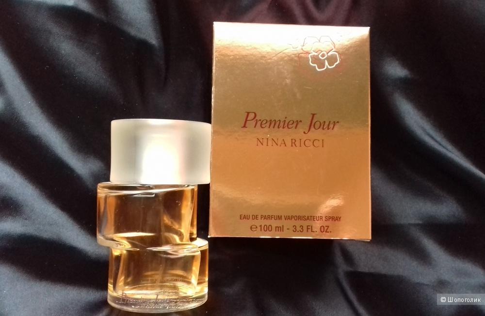 "Nina Ricci ""Premier Jour"". Парфюмированная вода 100 ml (остаток 75 ml)"