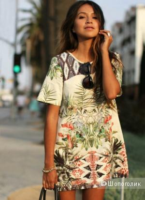 Фирменное платье Zara Woman М