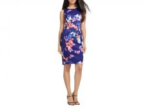 Ralph Lauren красивое платье с цветами. р. 48. Новое.Оригинал