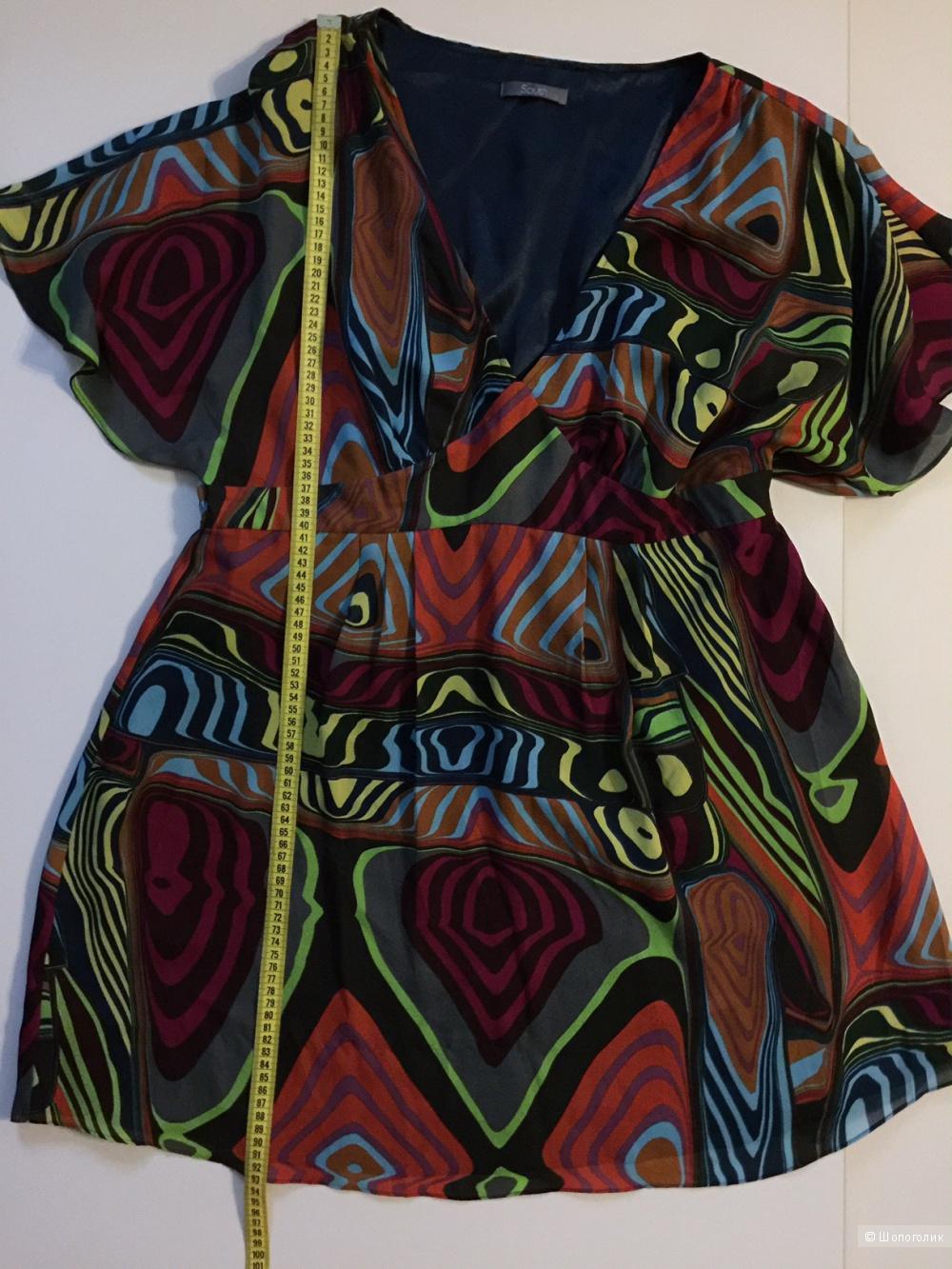 Шикарное шифоновое платье для дам 54-56 размеров марка SOUTH