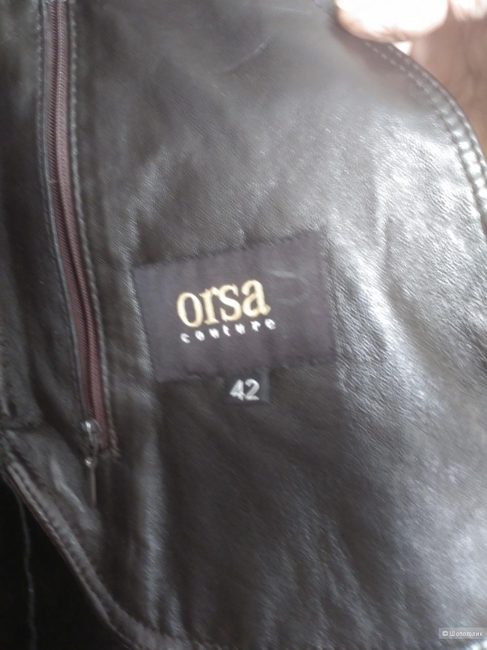Дубленка ORSA Италия р.42 евро