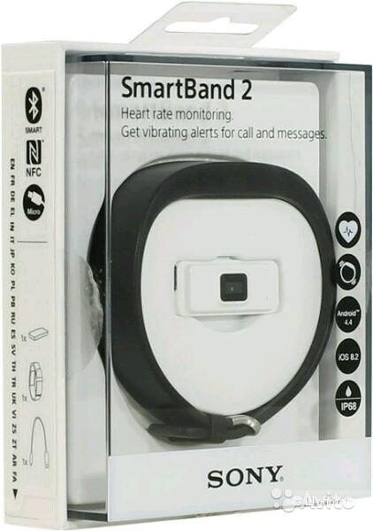 Умный браслет Sony SmartBand 2