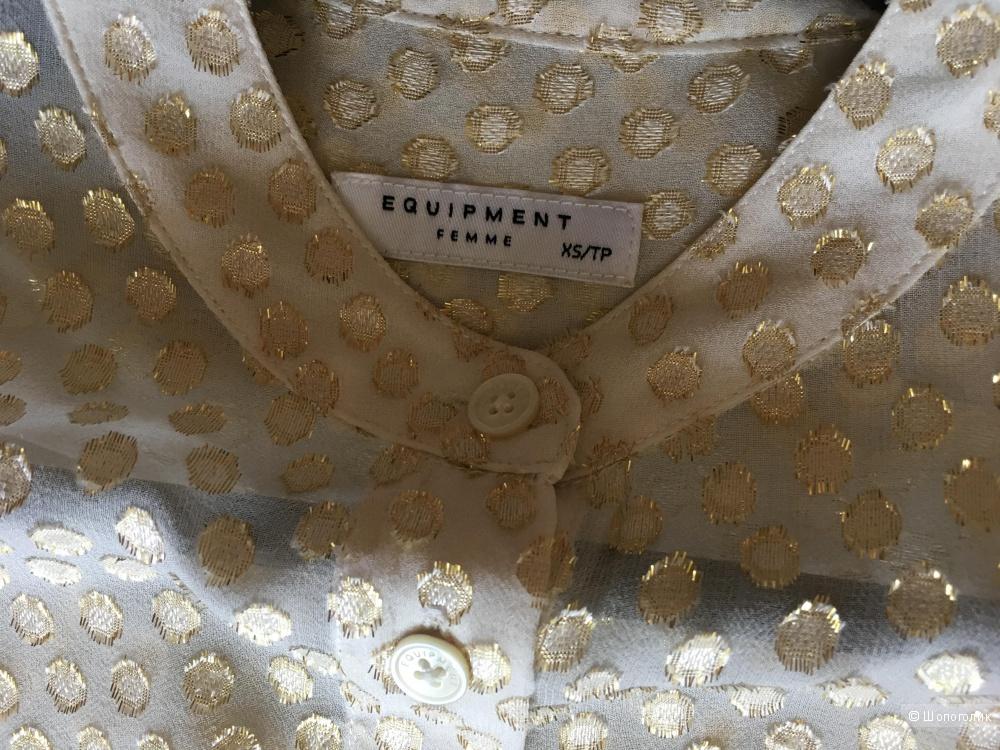 Шелковая блузка Equipment в размере XS