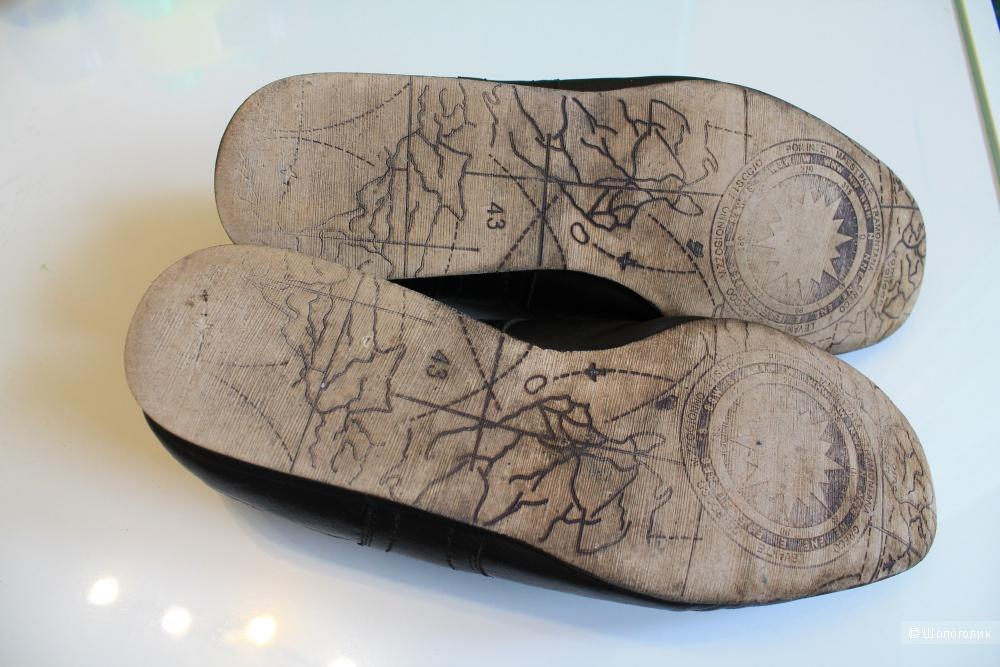 Мужские туфли carlo pazolini  р.43 кожа