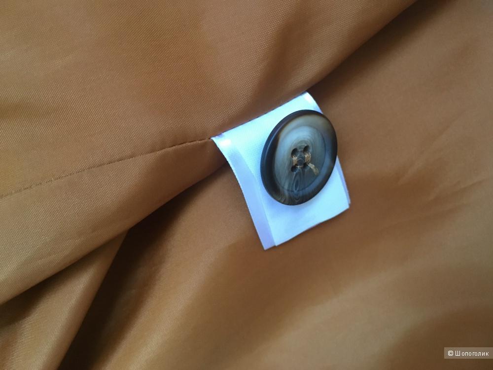 Терракотовый тренч Asos, хлопок, размер UK12 (44-46)