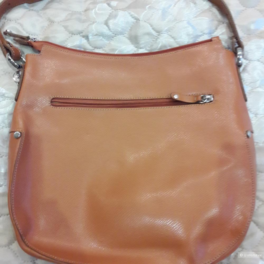 Новая кожаная сумка Lamarthe