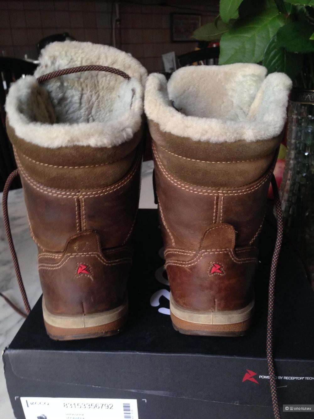 Сапоги зимние Ecco 38 размер