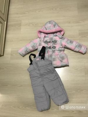 Зимний комплект на девочку 86 размер