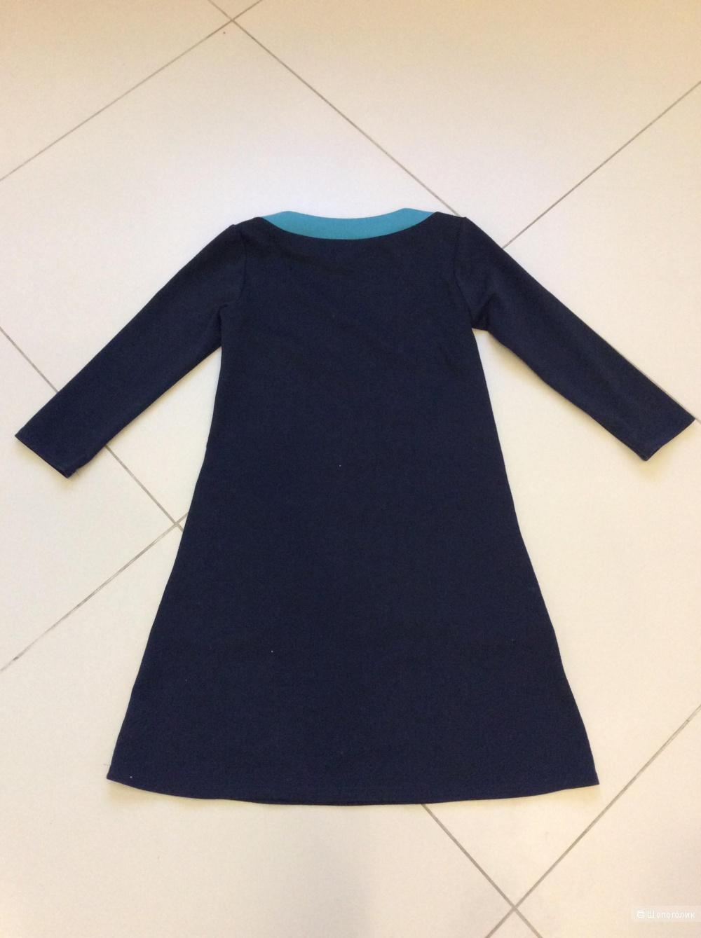 Платье-мини Casino из плотного трикотажа р.44