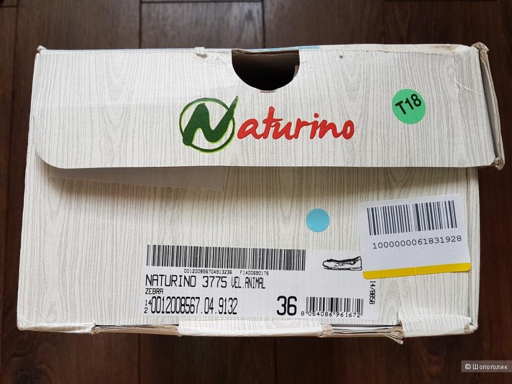 Детские балетки NATURINO, размер 36