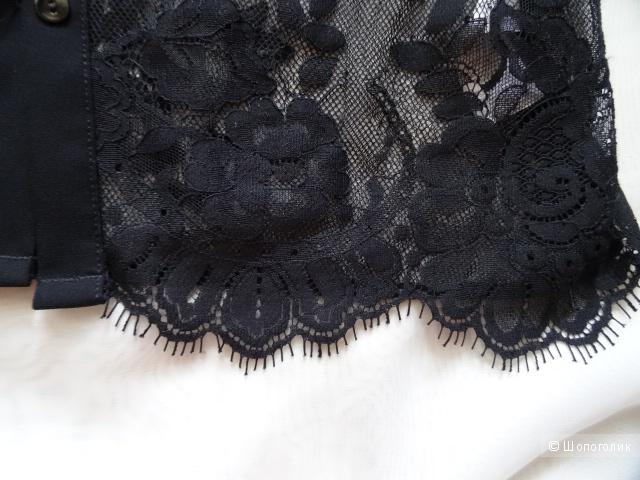 """Кружевная блузка """"Intimissimi lingerie"""", размер 42/44, б/у"""