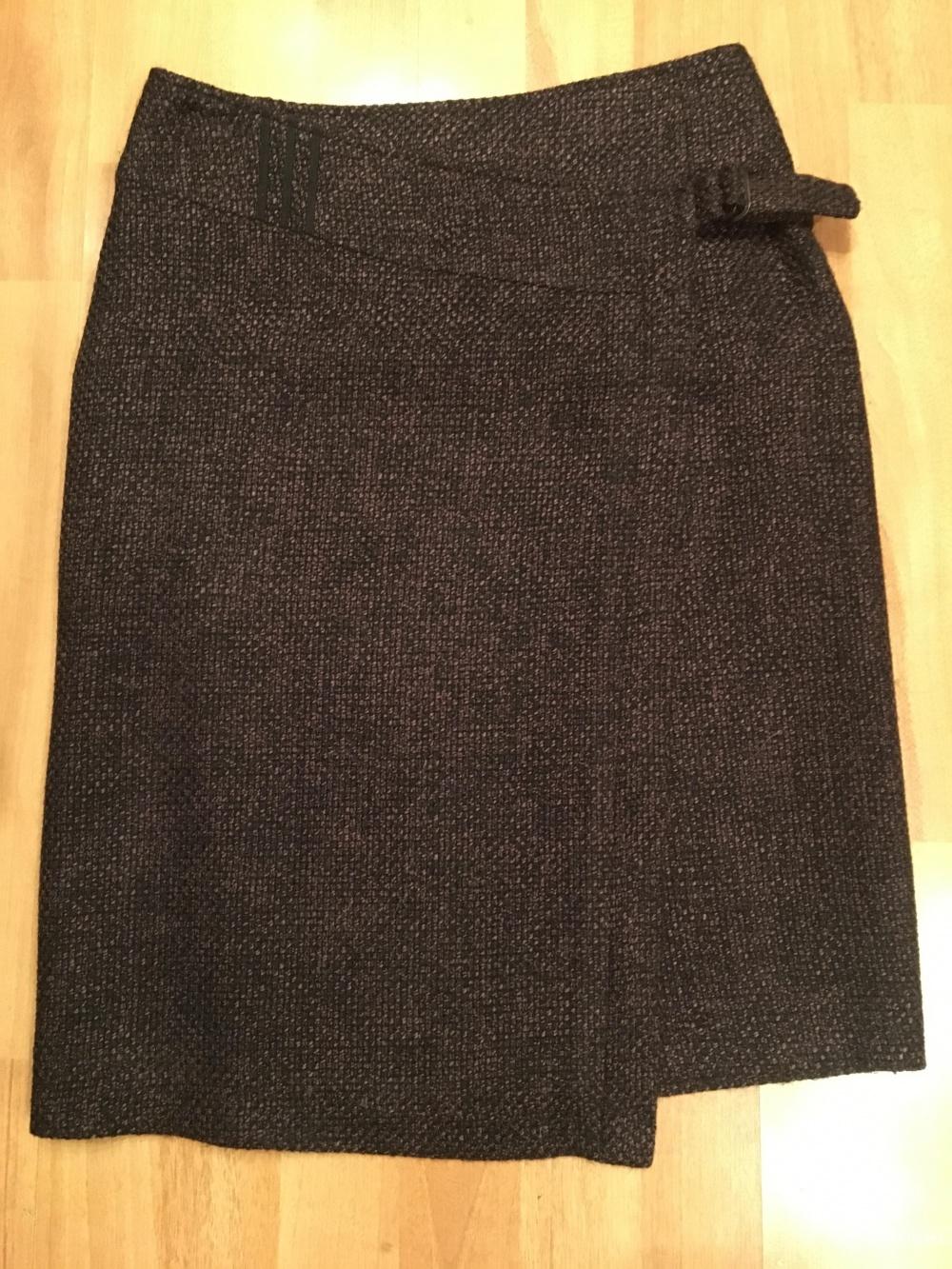 Юбка шерстяная, размер 42-44