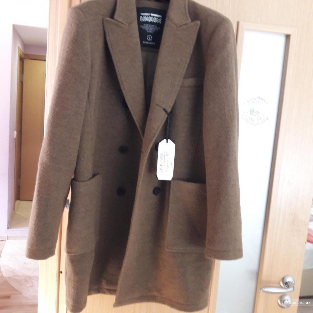Новое мужское шерстяное пальто Bomboogie размер L