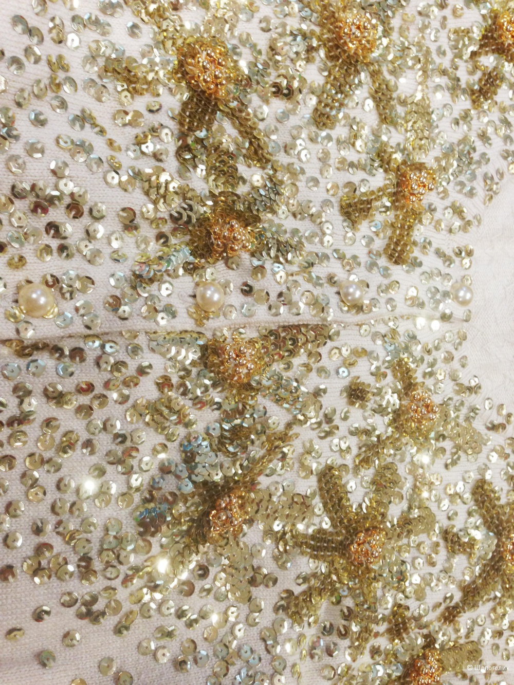 Victoria's Secret красивая кофта расшитая бисером. р.xs.