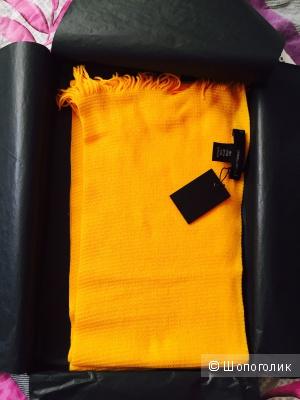 Шарф Dsquared2 из хлопка, желтого цвета