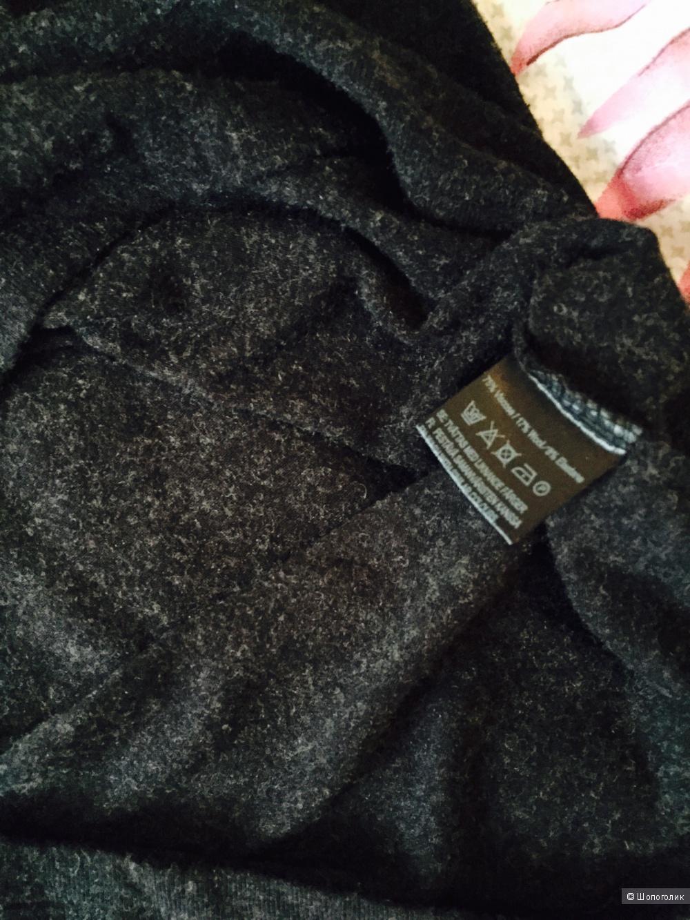 Турецкое платье Jnojska, размер s/m, темно-серого цвета