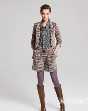 Костюм: пиджак шорты BGN, коричневый, 42-44