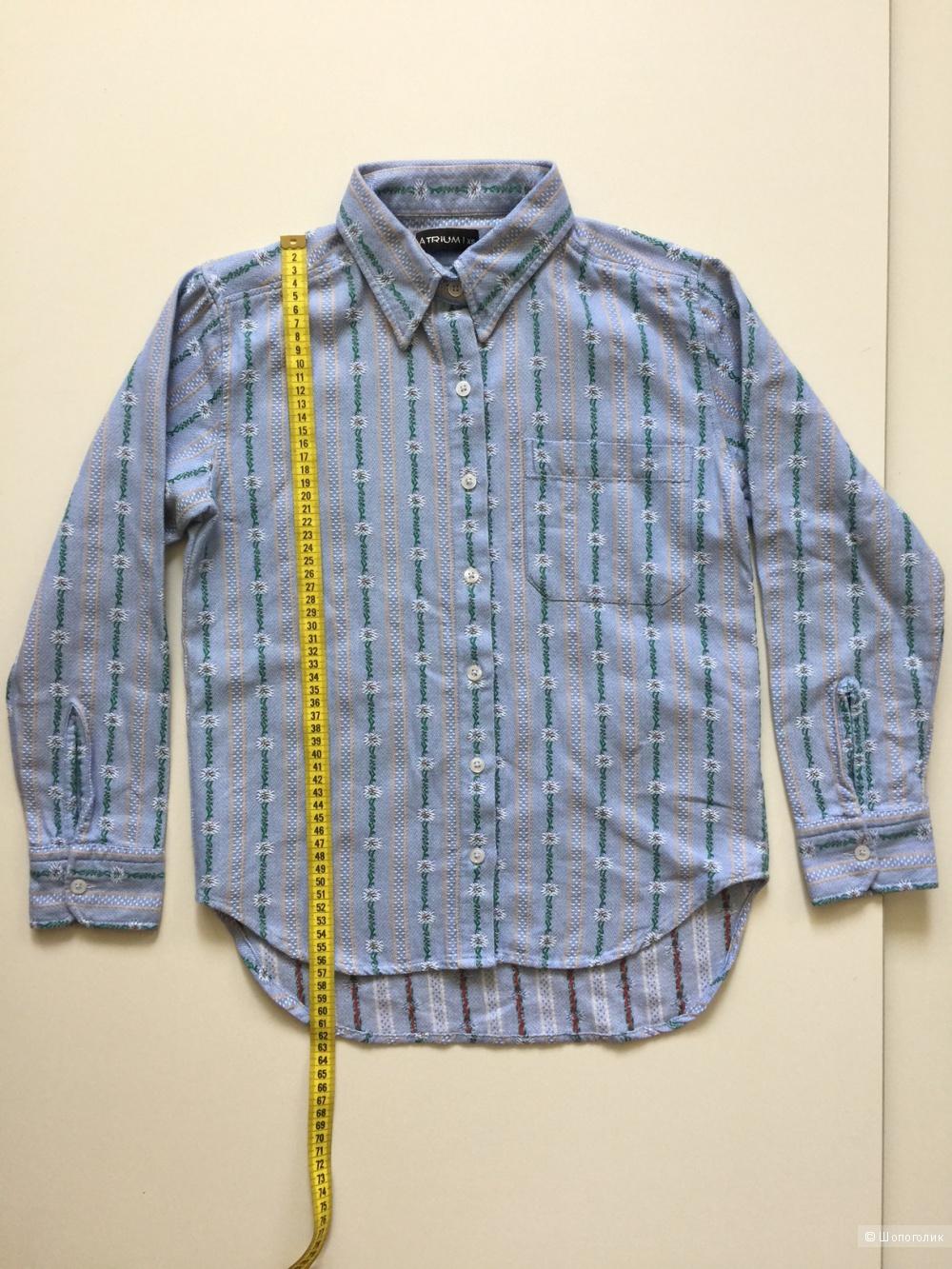 Супер Рубашка в стиле GUCCI! марка ARTIUM размер XS
