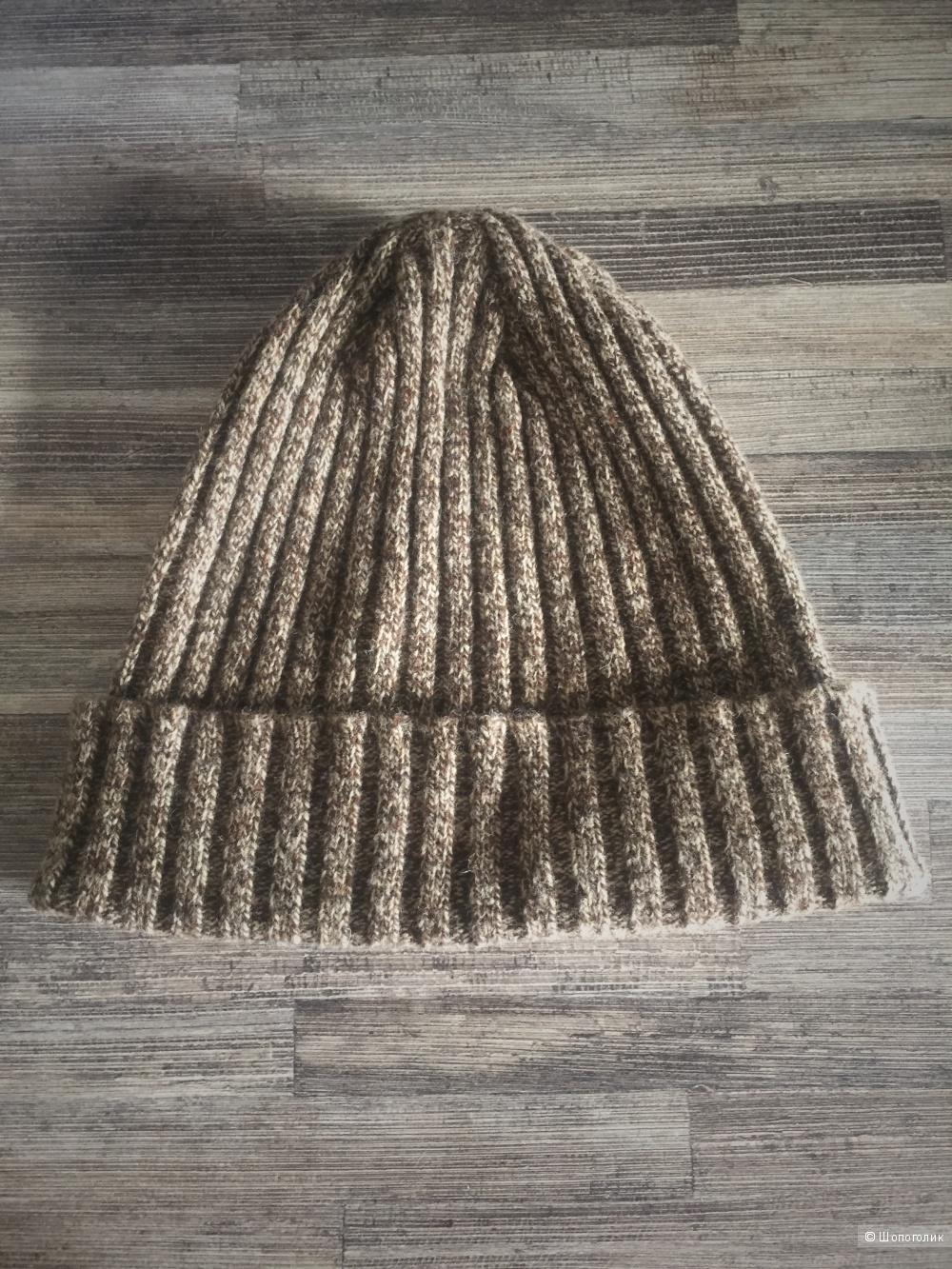 Осенняя шапочка в размере unica