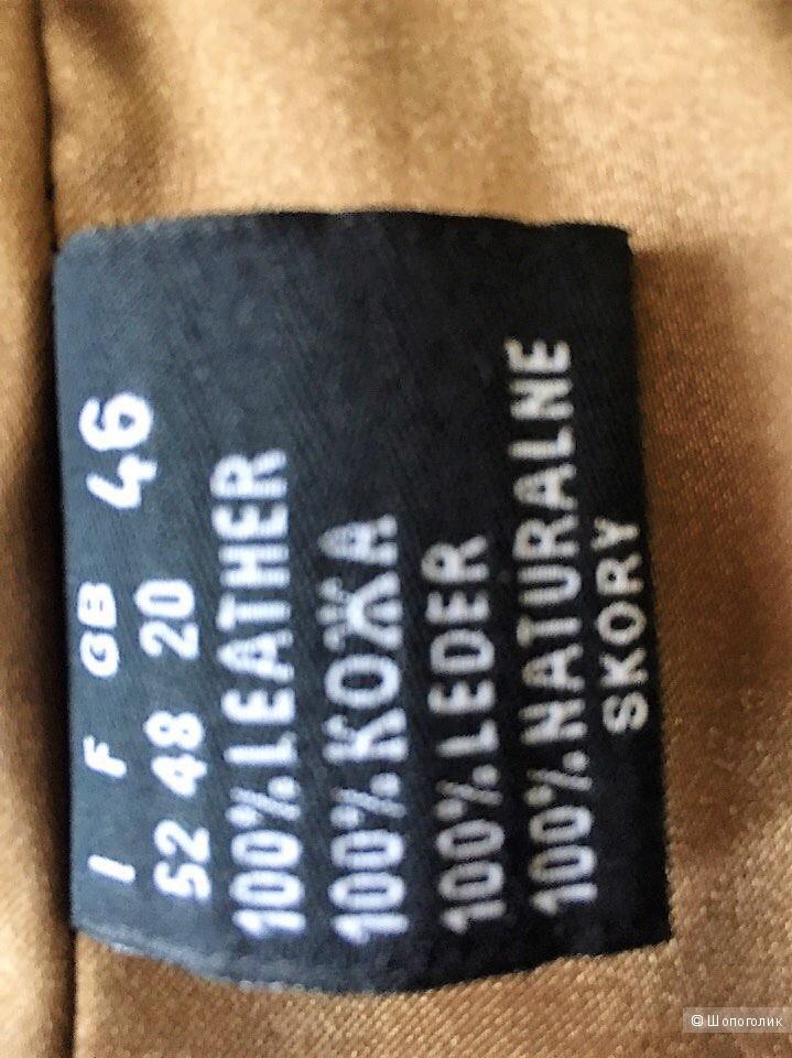 Кожаный плащ Mondial, р 52