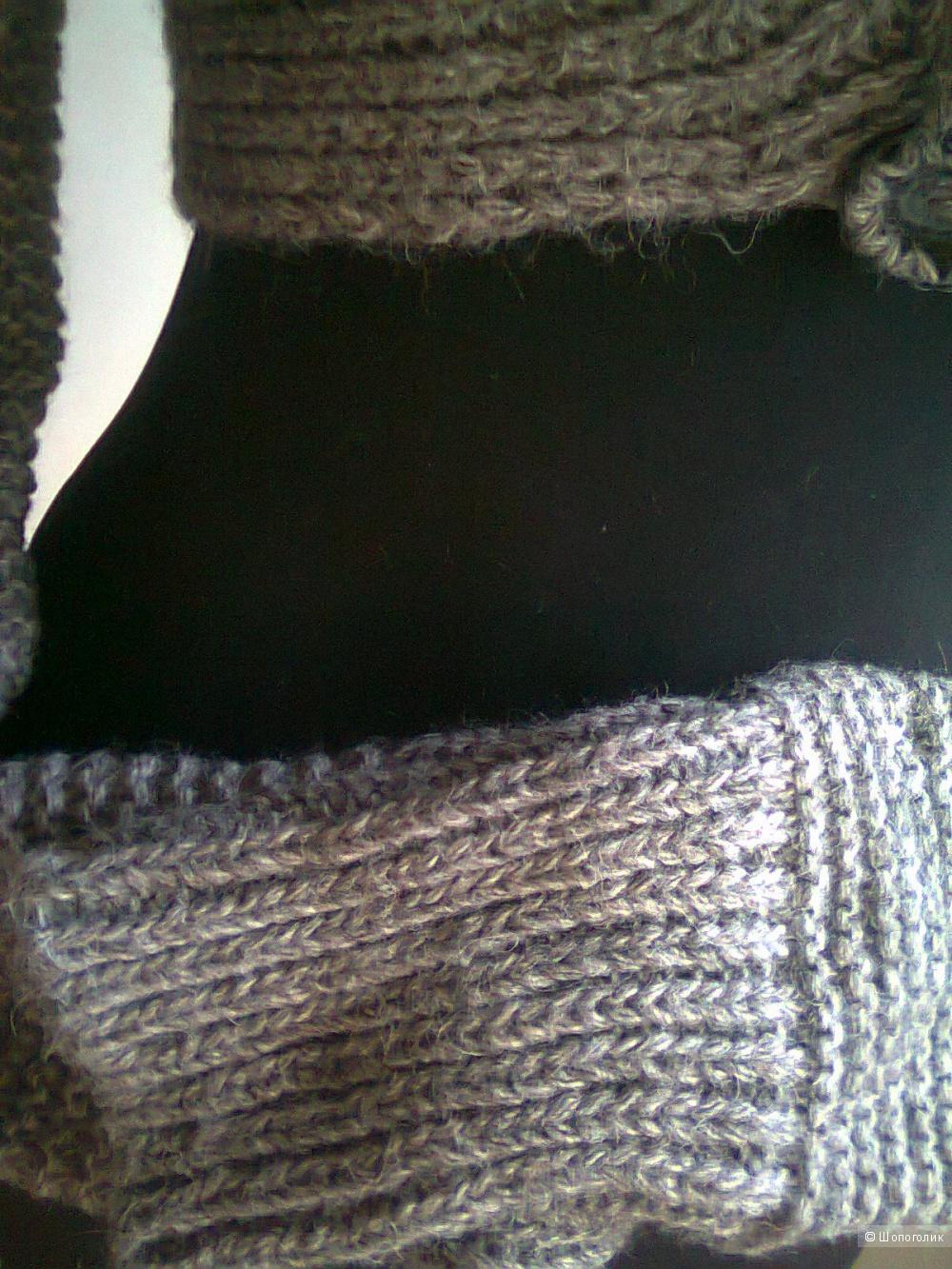 Женская кофта-балеро тёплая шерсть(Италия) р.S  НОВАЯ