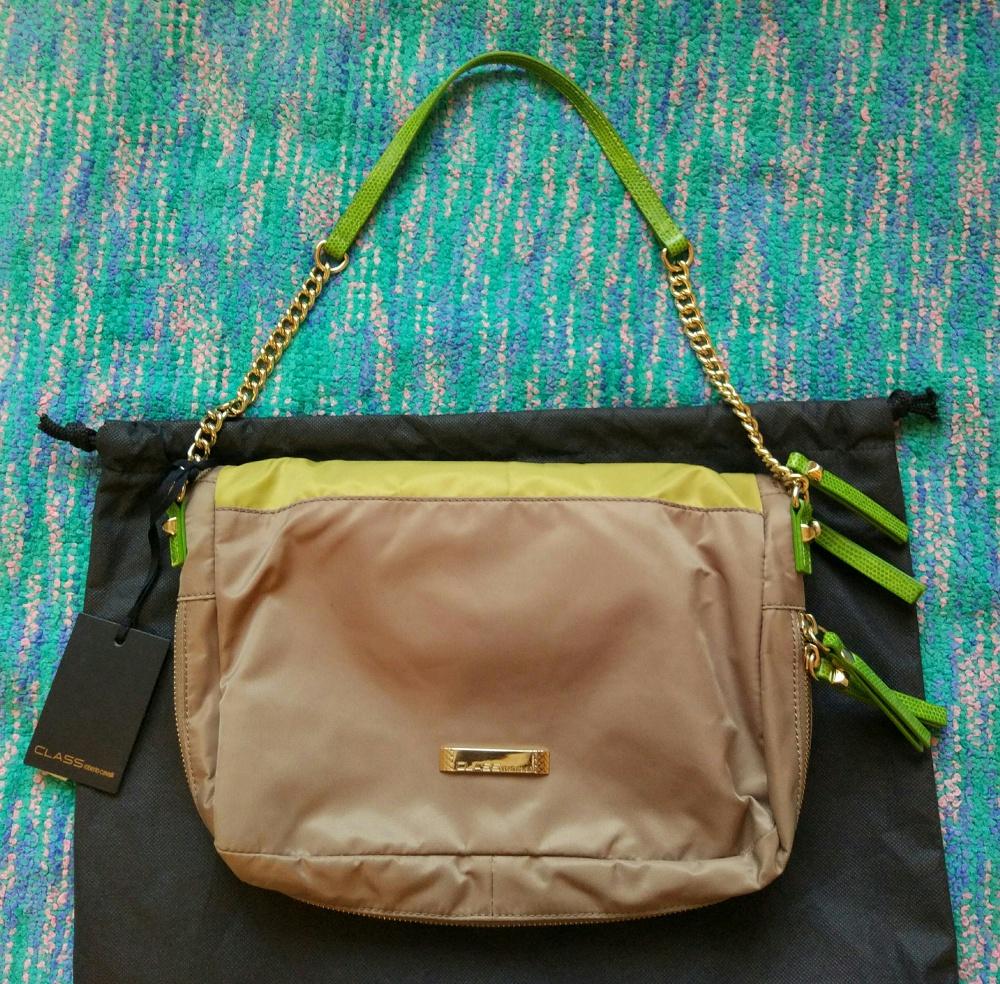 Новая сумка CLASS Roberto cavalli.