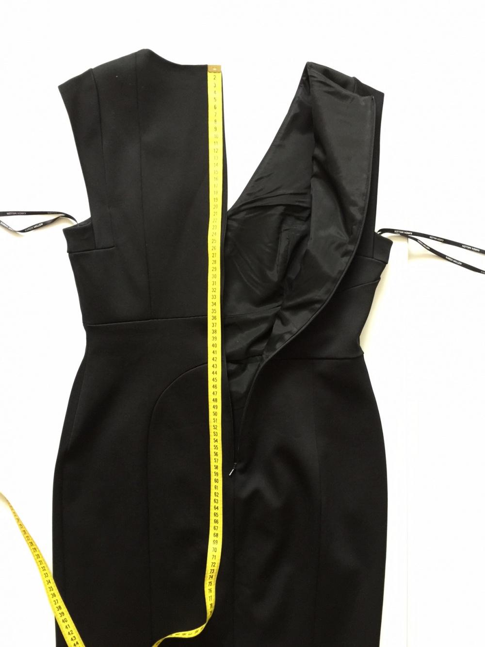Черное платье футляр марки Karen Millen размер 48-50