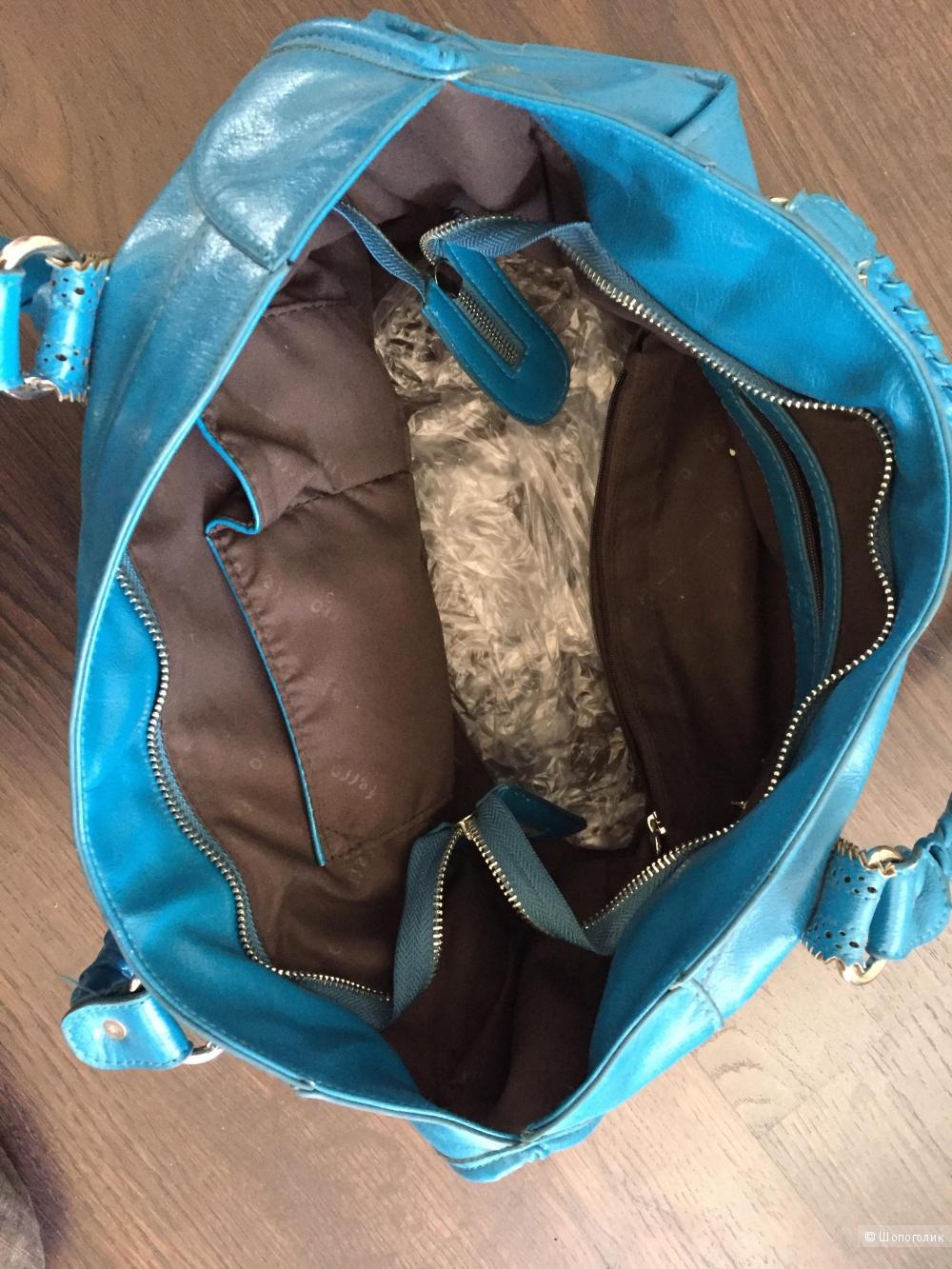 Кожаная сумка , натуральная кожа, Ferro