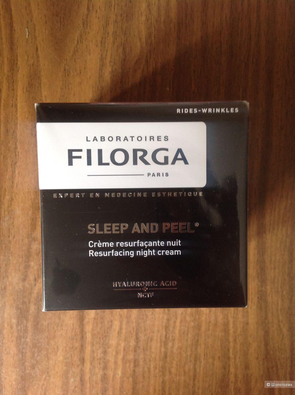 Filorga sleep and peel 50мл новый