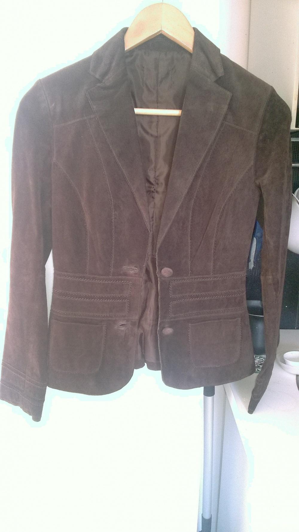 Замшевый пиджак, 40-42, 164