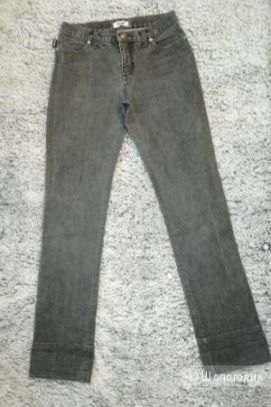 Moschino jeans джинсы серые 26-27 размер