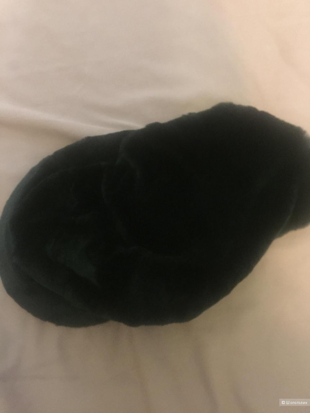 Шапка косынка из норки
