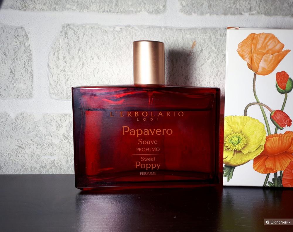 Парфюмированная вода L'Erbolario Papavero Soave / Sweet Poppy / Нежный Мак 100 мл