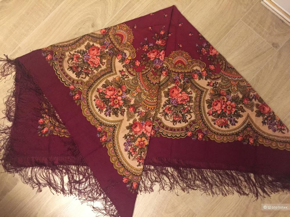 Павлопосадский платок. Оригинал. 100%шерсть