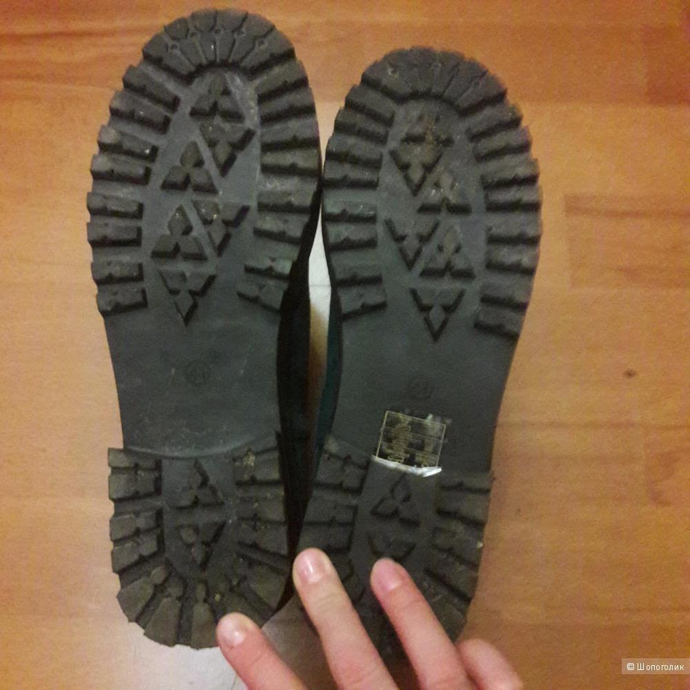 Замшевые ботинки Cool way 40 размера