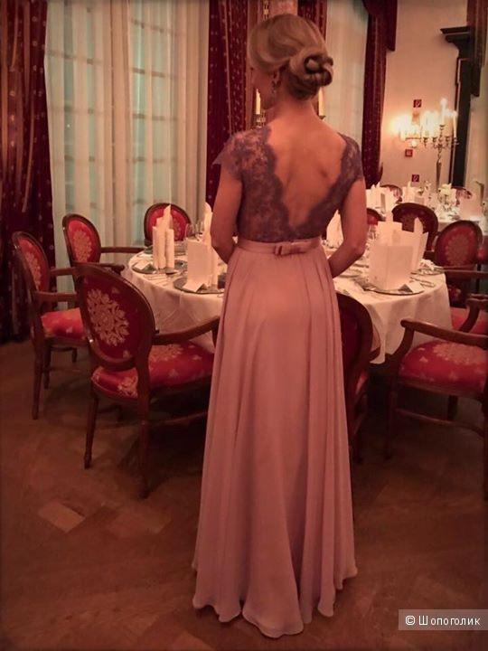 Вечернее платье Red in White р.42-44