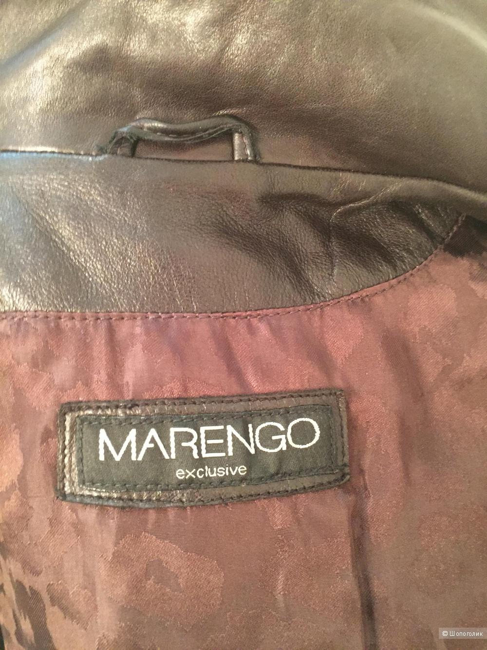 Плащ из натуральной кожи на 42 размер Marengo