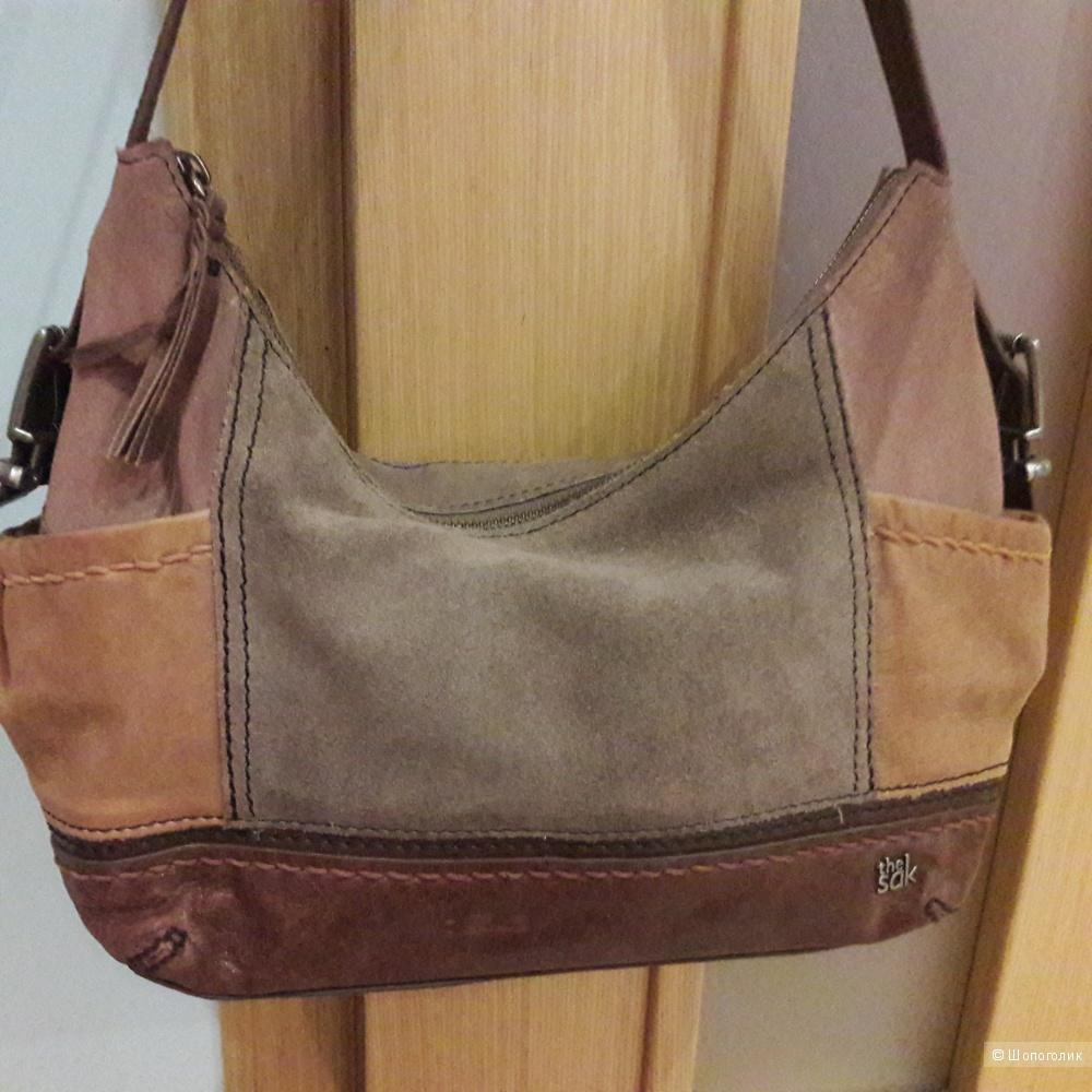 Кожаная сумка  The Sak