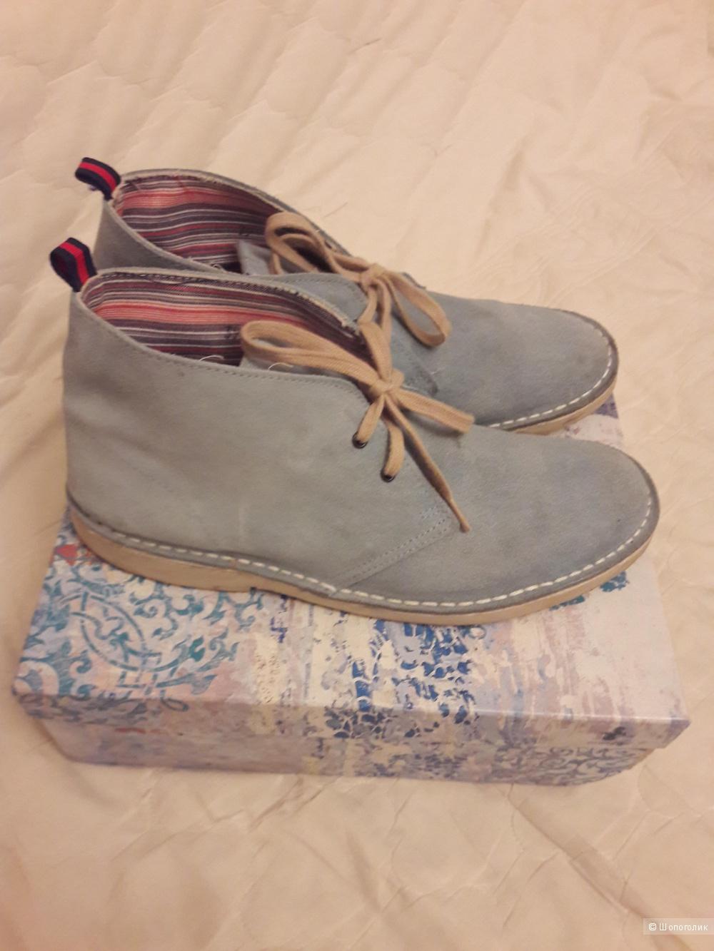 Женские ботинки-дезерты: замша, 39