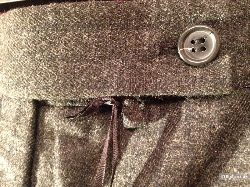 Шерстяные брюки MARKS & SPENCER 16-14uk L