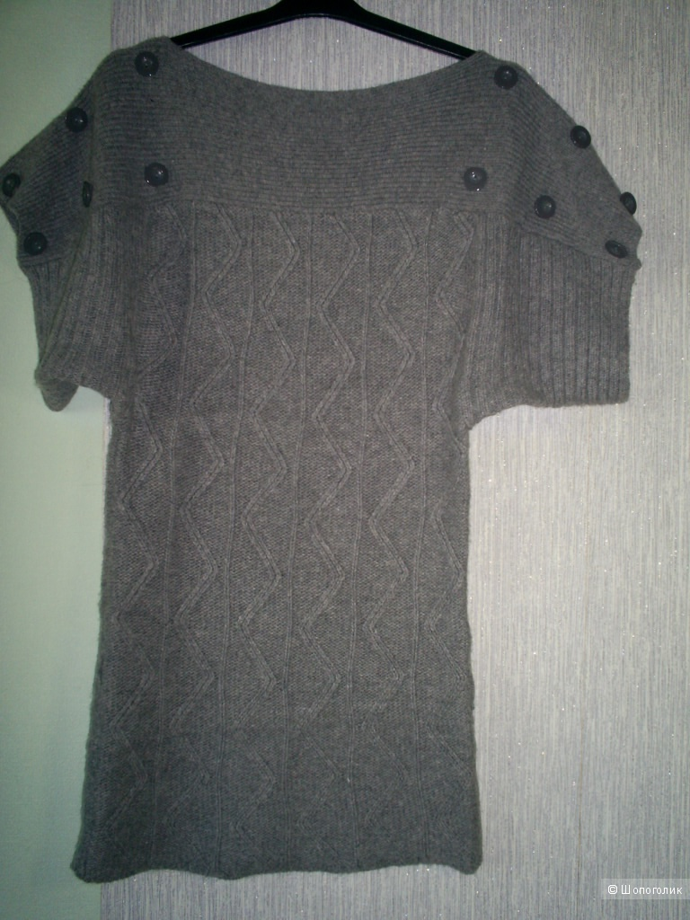 Шерстяное платье-туника от Morgan р 44-46.