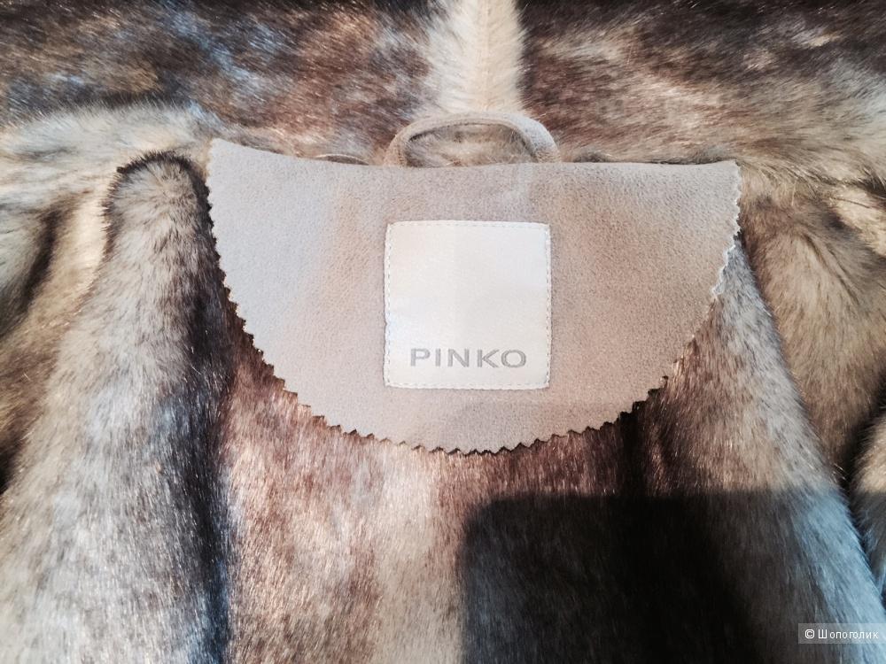 Дубленка Pinko, размер 14 UK