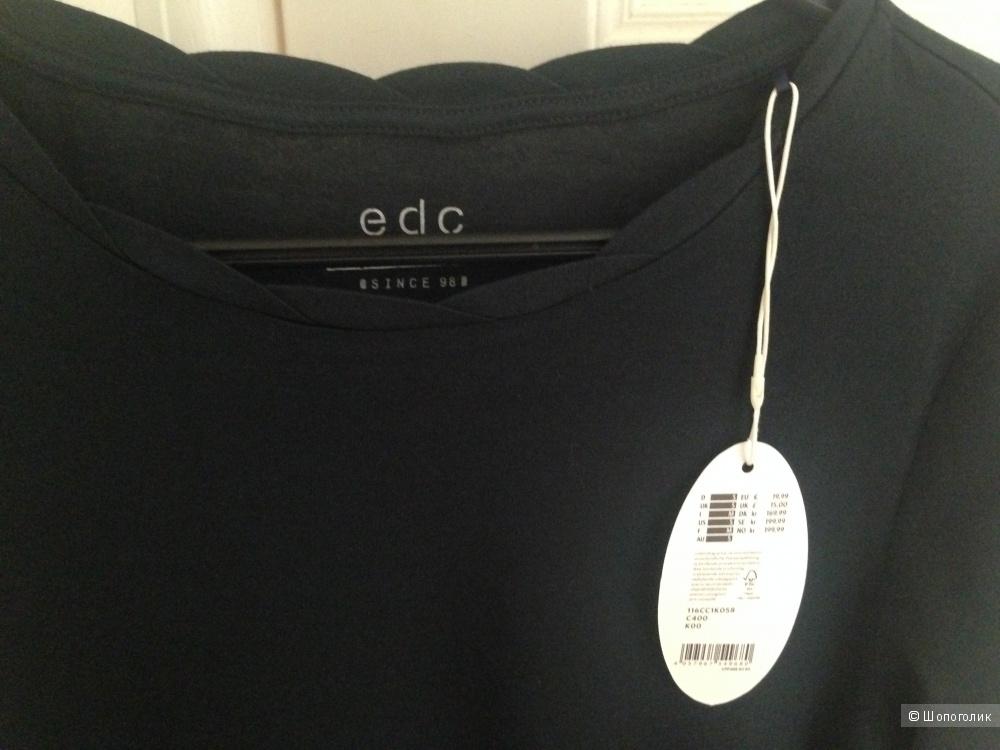 ESPRIT EDC - лонгслив трикотаж размер S, большемерка