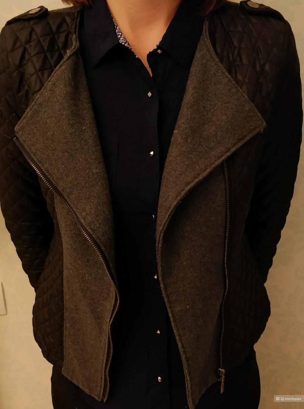 Курточка стеганая размер 44-46