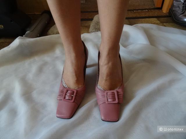 Туфли «5th avenue», кожа, размер 39, б/у