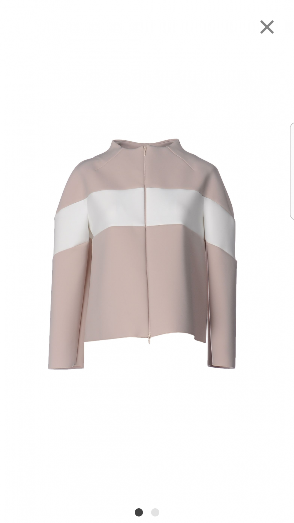 Курточка из неопрена Armani  Collezioni, размер 40 it (42-44)