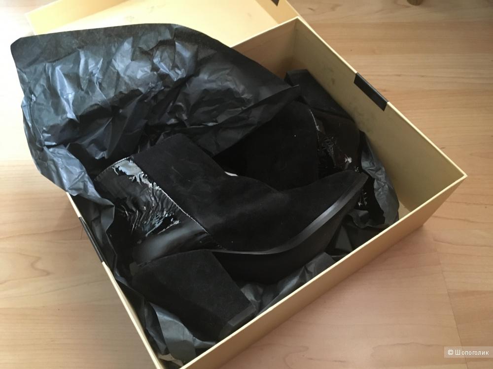 Новые кожаные ботильоны размер евро 37