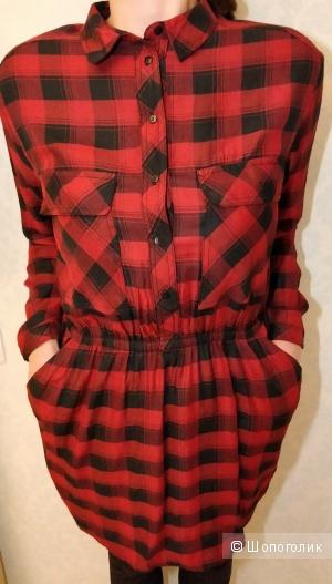 Платье-рубашка Mango размер L