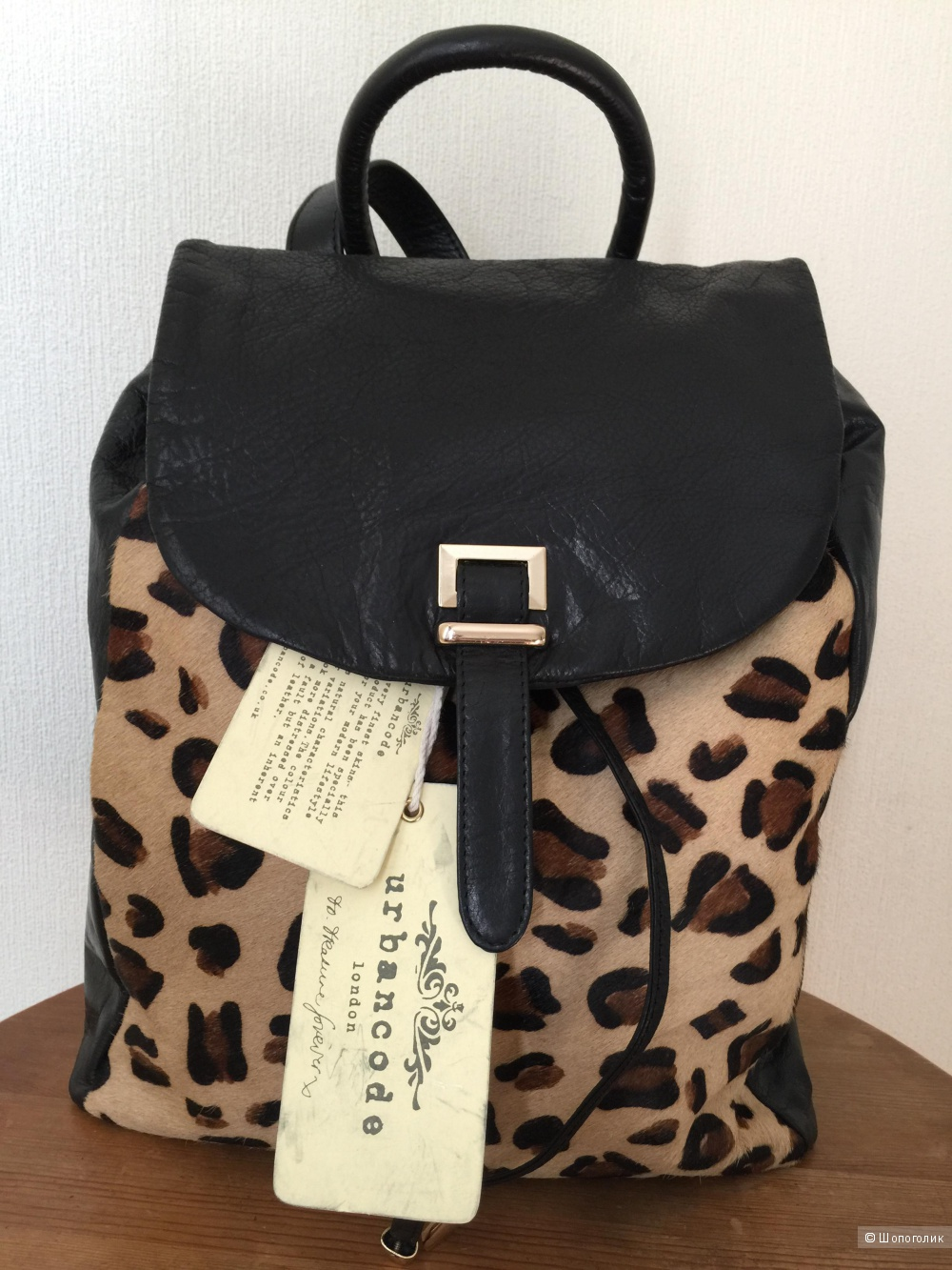 Кожаный рюкзак Urbancode